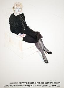 Celia, Paris by David Hockney