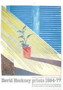 Sun from the Weather Series by David Hockney