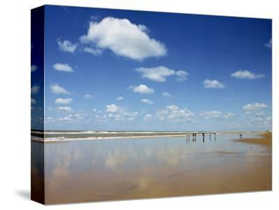 Beach at Cotes D'Argent in Gironde, Aquitaine, France, Europe