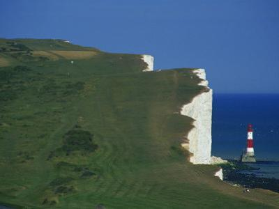 Beachy Head, South Downs, East Sussex, England, United Kingdom, Europe by David Hughes