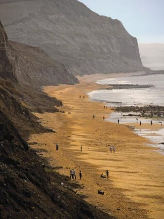 Charmouth, Jurassic Coast, UNESCO World Heritage Site, Dorset, England, United Kingdom, Europe by David Hughes