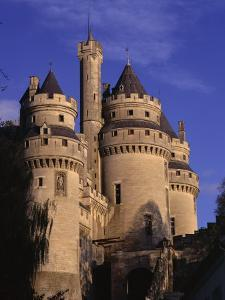 Chateau De Pierrefonds, Forest of Compiegne, Oise, Nord-Picardie (Picardy), France by David Hughes