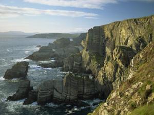 Cliffs at Mizen Head, County Cork, Munster, Republic of Ireland,Europe by David Hughes