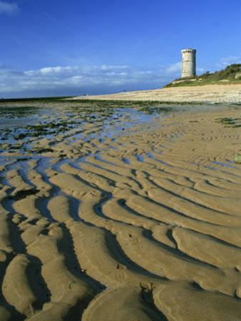 Lighthouse of Phare Des Baleines, Ile De Re, Charente-Maritime, Poitou-Charentes, France, Europe by David Hughes