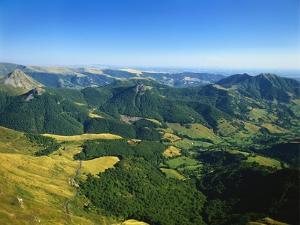 Massif Central, Auvergne Volcanoes National Park, France by David Hughes