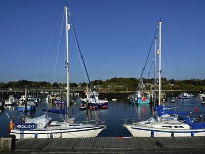 Old Town Quay, Lymington, Hampshire, England, United Kingdom, Europe by David Hughes