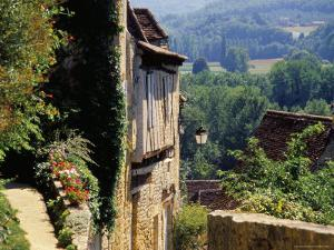 Old Village of Limeuil, Dordogne Valley, Aquitaine, France by David Hughes