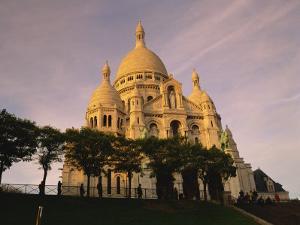 Sacre Coeur, Montmartre, Paris, France, Europe by David Hughes