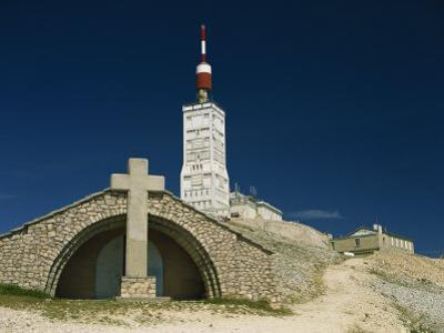 Summit of Mont Ventoux in Vaucluse, Provence, France, Europe by David Hughes
