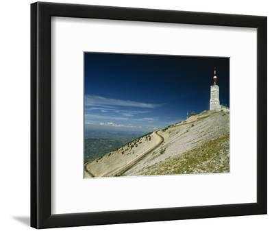 Summit of Mont Ventoux in Vaucluse, Provence, France, Europe