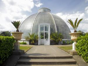 The Palm House Conservatory, Kew Gardens, Unesco World Heritage Site, London, England by David Hughes