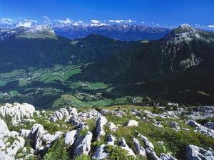 View from the Alps, Chartreuse, France by David Hughes