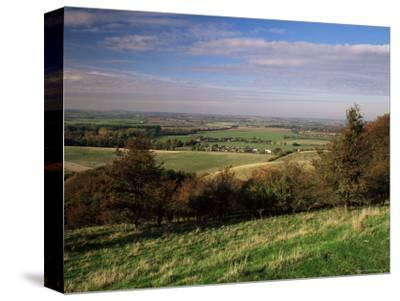 View from the Pegston Hills, of Hertfordshire and Bedfordshire, UK