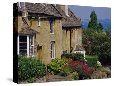 Village Houses, Bourton-On-The-Hill, Cotswolds, Gloucestershire, England, UK