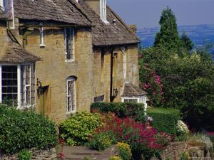 Village Houses, Bourton-On-The-Hill, Cotswolds, Gloucestershire, England, UK by David Hughes