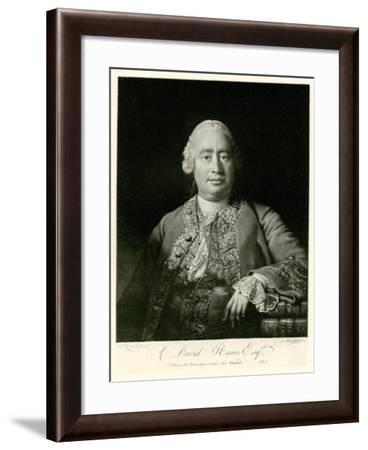 David Hume, 1884-90--Framed Giclee Print