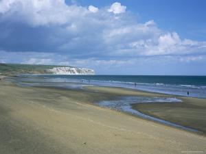Beach View to Culver Cliff, Sandown, Isle of Wight, England, United Kingdom by David Hunter