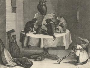 Cats Concert, 1635-1636 by David (II)