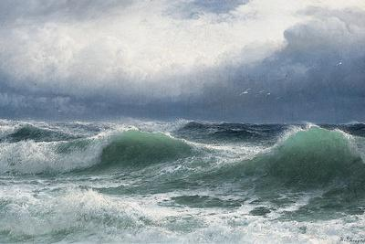 Stormy Sea with Translucent Breakers, 1894
