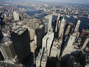 Lower Manhattan by David Jay Zimmerman