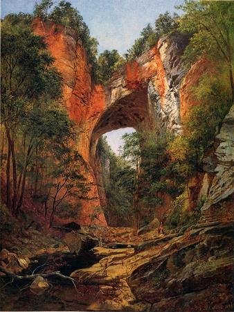 A Natural Bridge, Virginia, 1860