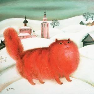 Red Cat, 1994 by David Khaikin