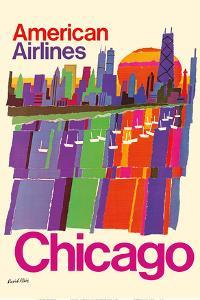 Chicago - American Airlines by David Klein