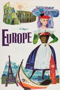 Europe by David Klein