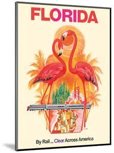Florida - Walt Disney World - By Rail Clear Across America by David Klein