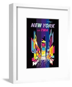 Fly TWA New York c.1958 by David Klein