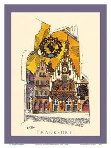 Frankfurt, Germany - TWA (Trans World Airlines) Menu Cover by David Klein