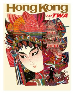 Hong Kong - Fly TWA (Trans World Airlines) by David Klein