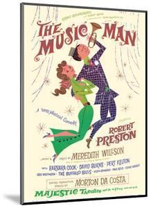 The Music Man - Starring Robert Preston - Majestic Theater Broadway by David Klein
