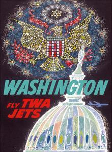 Washington, D.C. - Fly TWA Jets (Trans World Airlines) by David Klein