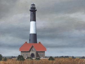 Fire Island Light Station by David Knowlton