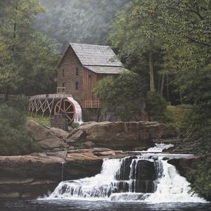 Glade Creek Mill by David Knowlton