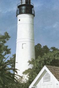 Key West Lighthouse by David Knowlton