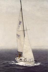 Sailing Solo by David Knowlton