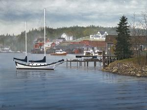 Tranquil Harbor by David Knowlton