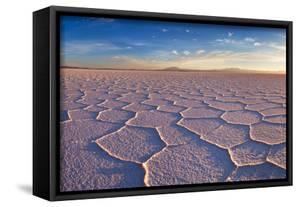 Salar De Uyuni at Sunrise, the Largest Salt Flat in the World by David Krijgsman