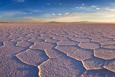 Salar De Uyuni at Sunrise, the Largest Salt Flat in the World-David Krijgsman-Photographic Print