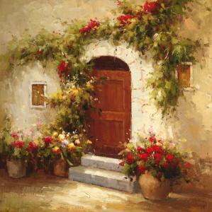 Rustic Doorway IV by David Lakewood