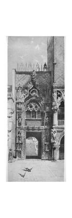 'Entrance to the Doges' Palace', c1870, (1911)