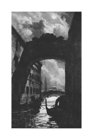 'The Bridge of Sighs', c1880, (1911)