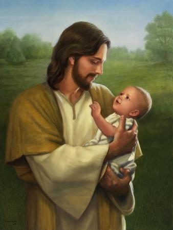 Jesus and Baby by David Lindsley