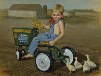 Murray Diesel Tractor by David Lindsley