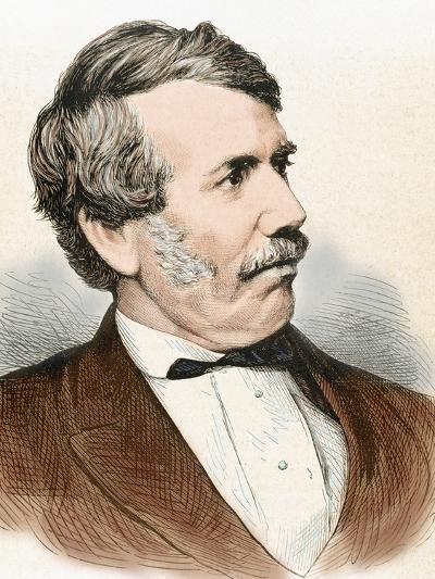 David Livingstone (1813-1873). Scottish Explorer-Prisma Archivo-Photographic Print
