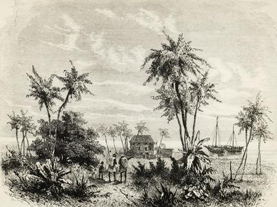 David Livingstone's House in Zanzibar, Illustration from Last Journals