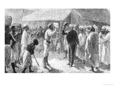 """David Livingstone from """"How I Found Livingstone"""" by Sir Henry Morton Stanley--Giclee Print"""