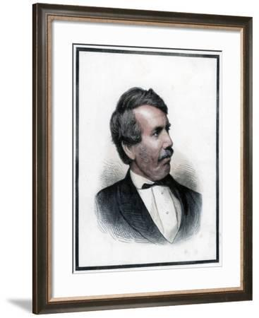 David Livingstone, Scottish Missionary and African Explorer, 1874--Framed Giclee Print
